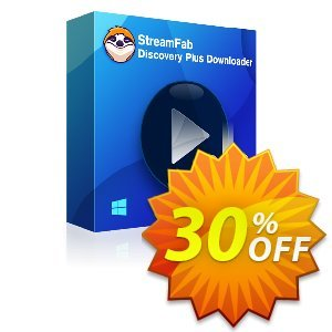 StreamFab Discovery Plus Downloader Lifetime discount coupon 30% OFF StreamFab Discovery Plus Downloader Lifetime, verified - Special sales code of StreamFab Discovery Plus Downloader Lifetime, tested & approved