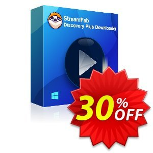 StreamFab Discovery Plus Downloader (1 Month) discount coupon 30% OFF StreamFab Discovery Plus Downloader (1 Month), verified - Special sales code of StreamFab Discovery Plus Downloader (1 Month), tested & approved