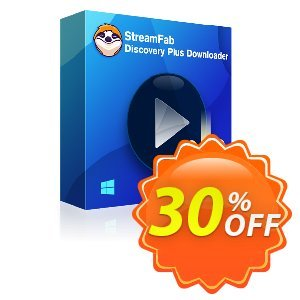 StreamFab Discovery Plus Downloader (1 Year) discount coupon 30% OFF StreamFab Discovery Plus Downloader (1 Year), verified - Special sales code of StreamFab Discovery Plus Downloader (1 Year), tested & approved