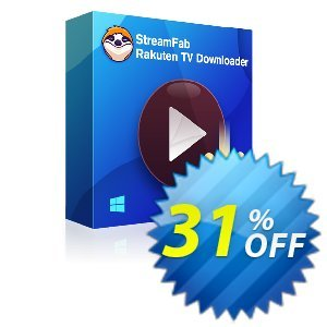 StreamFab Rakuten Downloader PRO Coupon, discount 31% OFF StreamFab FANZA Downloader for MAC, verified. Promotion: Special sales code of StreamFab FANZA Downloader for MAC, tested & approved