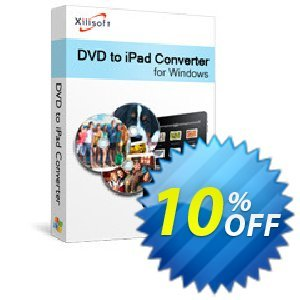 Xilisoft DVD to iPad Converter 프로모션 코드 Xilisoft DVD to iPad Converter stunning offer code 2020 프로모션: Discount for Xilisoft coupon code