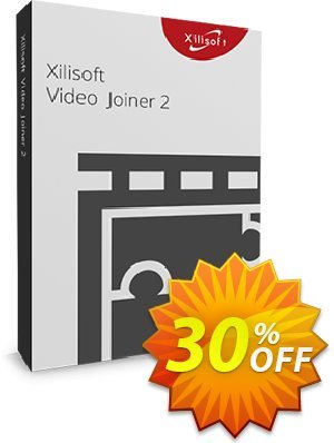 Xilisoft Video Joiner discount coupon 30OFF Xilisoft (10993) - Discount for Xilisoft coupon code