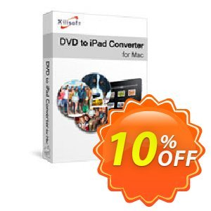 Xilisoft DVD to iPad Converter for Mac Coupon, discount Xilisoft DVD to iPad Converter for Mac stunning promo code 2021. Promotion: stunning promo code of Xilisoft DVD to iPad Converter for Mac 2021