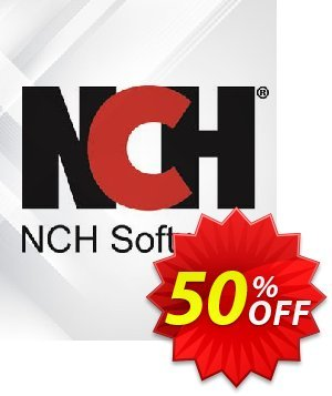 VideoPad Video Editor German Coupon discount NCH coupon discount 11540 - Save around 30% off the normal price