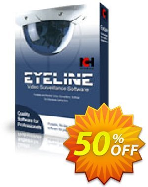 Eyeline Video Surveillance Software - Home User 優惠券,折扣碼 NCH coupon discount 11540,促銷代碼: Save around 30% off the normal price