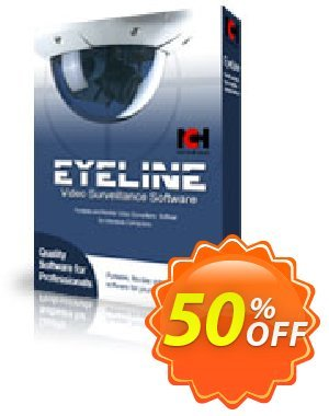 Eyeline Video Surveillance Software - Single Camera discount coupon NCH coupon discount 11540 - Save around 30% off the normal price