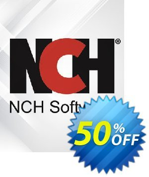 PhotoPad Photo Editing Software Coupon discount NCH coupon discount 11540 - Save around 30% off the normal price