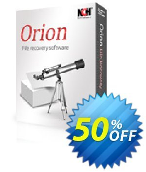 Orion File Recovery Software Coupon, discount 50% OFF Orion File Recovery Software, verified. Promotion: Super offer code of Orion File Recovery Software, tested & approved