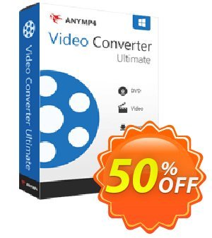 Any Video Converter Ultimate Coupon, discount Redirect coupon Product Avangate from Anymp4. Promotion: