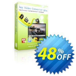 Any Video Converter Pro. Coupon discount for TLAP day Discount