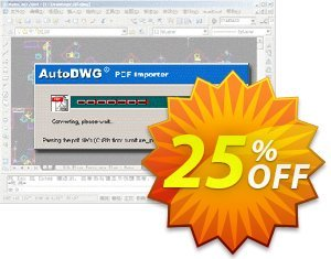 AutoDWG DWG to PDF Converter Pro discount coupon 25% AutoDWG (12005) - 10% Discount from AutoDWG (12005)