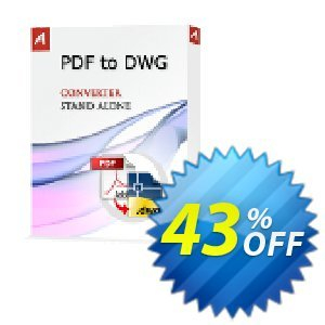 PDF to DWG Stand-Alone Coupon, discount 25% AutoDWG (12005). Promotion: 10% Discount from AutoDWG (12005)