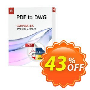 AutoDWG PDF to DWG Stand-Alone version 2015 Coupon, discount 25% AutoDWG (12005). Promotion: 10% Discount from AutoDWG (12005)