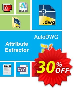 AutoDWG Attribute Extractor discount coupon 25% AutoDWG (12005) - 10% Discount from AutoDWG (12005)