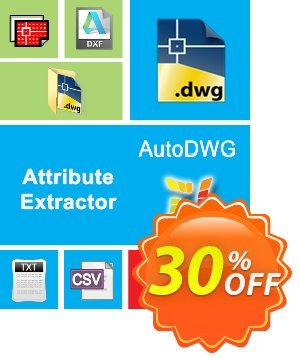 AutoDWG Attribute Extractor 2015 Coupon, discount 25% AutoDWG (12005). Promotion: 10% Discount from AutoDWG (12005)
