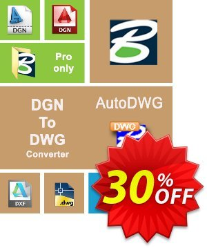 AutoDWG DGN to DWG Converter 2015 Coupon, discount 10% AutoDWG (12005). Promotion: 10% Discount from AutoDWG (12005)