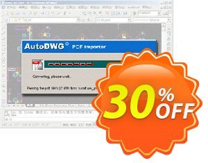 AutoDWG PDF to DWG Converter SERVER discount coupon 25% AutoDWG (12005) - 10% Discount from AutoDWG (12005)