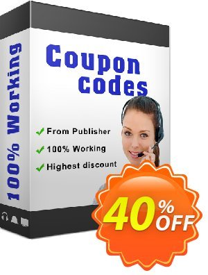 ALO Video to Audio Converter Coupon, discount 40PecentOffer_new. Promotion: