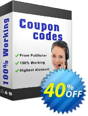 Any Video/Audio Converter Coupon, discount 40PecentOffer_new. Promotion: