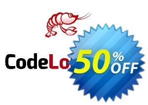 CodeLobster PHP Edition Lite Coupon discount 50% discount for all products. Promotion: 50% discount for all products