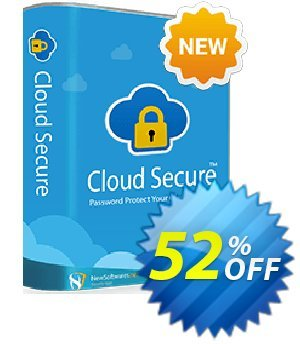 Cloud Secure Coupon, discount TopShareware. Promotion: