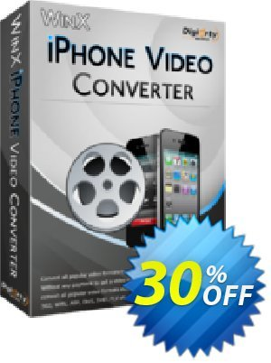 WinX iPhone Video Converter Coupon, discount WinX iPhone Video Converter fearsome deals code 2020. Promotion: fearsome deals code of WinX iPhone Video Converter 2020