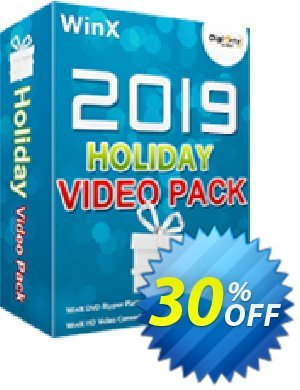 WinX 2019 Holiday Video Pack 프로모션 코드 WinX 2020 Holiday Video Pack wonderful offer code 2020 프로모션: wonderful offer code of WinX 2020 Holiday Video Pack 2020