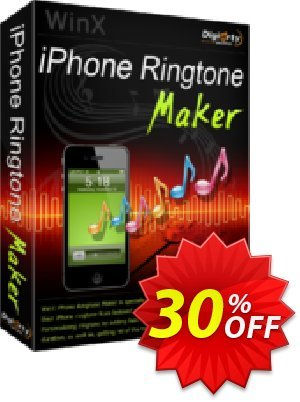 WinX iPhone Ringtone Maker Coupon discount WinX iPhone Ringtone Maker awful promotions code 2020. Promotion: awful promotions code of WinX iPhone Ringtone Maker 2020