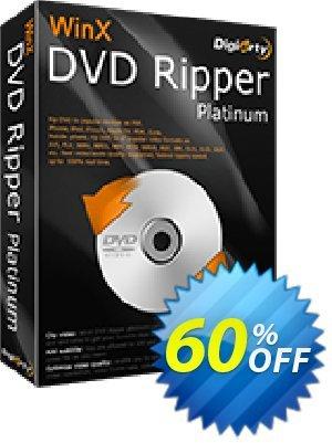 WinX DVD Ripper Platinum (1 year License) discount coupon 57% OFF WinX DVD Ripper Platinum (1 year License), verified - Exclusive promo code of WinX DVD Ripper Platinum (1 year License), tested & approved