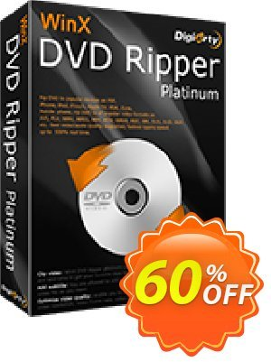 WinX DVD Ripper Platinum (3-month License) discount coupon 57% OFF WinX DVD Ripper Platinum (3-month License), verified - Exclusive promo code of WinX DVD Ripper Platinum (3-month License), tested & approved