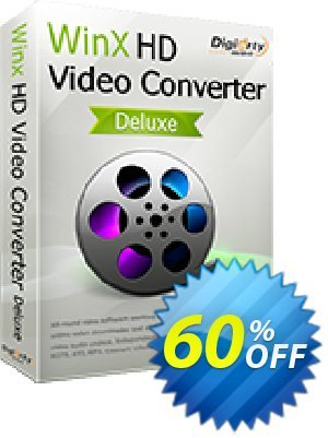 WinX HD Video Converter Deluxe (3 months License) discount coupon 65% OFF WinX HD Video Converter Deluxe (3 months License), verified - Exclusive promo code of WinX HD Video Converter Deluxe (3 months License), tested & approved
