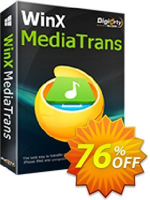 WinX MediaTrans (1 year License) discount coupon 76% OFF WinX MediaTrans (1 year License), verified - Exclusive promo code of WinX MediaTrans (1 year License), tested & approved