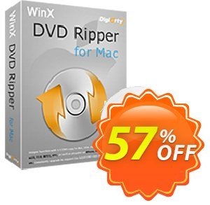 WinX DVD Ripper for Mac Coupon discount Special Offer for softwarediscounts - 50% off for WinX DVD Ripper for Mac, DRP, DELUXE, DCP, DRM, MC