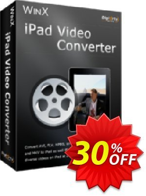 WinX iPad Video Converter Coupon, discount WinX iPad Video Converter awful offer code 2020. Promotion: awful offer code of WinX iPad Video Converter 2020