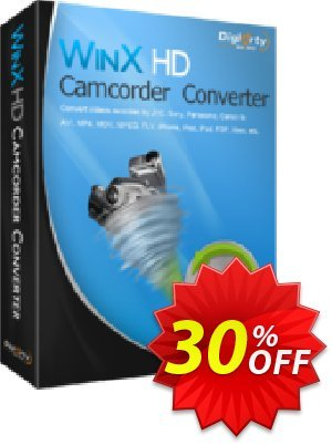 WinX HD Camcorder Video Converter Coupon, discount WinX HD Camcorder Video Converter amazing discounts code 2020. Promotion: amazing discounts code of WinX HD Camcorder Video Converter 2020
