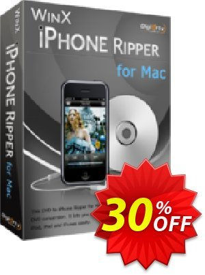 WinX iPhone Ripper for Mac Coupon, discount WinX iPhone Ripper for Mac big discounts code 2021. Promotion: big discounts code of WinX iPhone Ripper for Mac 2021
