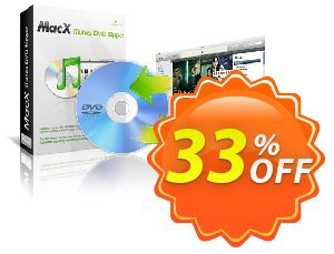 MacX iTunes DVD Ripper Coupon, discount MacX iTunes DVD Ripper fearsome discounts code 2020. Promotion: fearsome discounts code of MacX iTunes DVD Ripper 2020