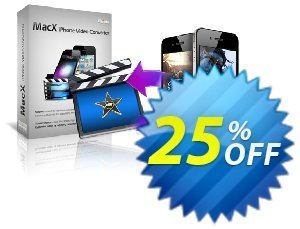 MacX iPhone Video Converter Coupon, discount MacX iPhone Video Converter excellent sales code 2020. Promotion: excellent sales code of MacX iPhone Video Converter 2020
