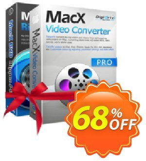 MacX DVD Video Converter Pro Pack Coupon, discount Spring Deal - 64% OFF pro pack. Promotion: MacX Video Converter Pro Pack coupon discount PACKAFFNEW58