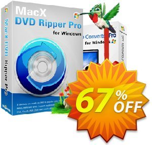 MacX DVD Ripper Pro (Windows) Coupon, discount Coupon discount of MacXDVD Ripper Windows version. Promotion: Coupon discount of MacX DVD Ripper Pro fow Windows HERE