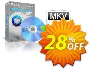 MacX iMKVmaker Coupon, discount MacX iMKVmaker big discounts code 2019. Promotion: big discounts code of MacX iMKVmaker 2019
