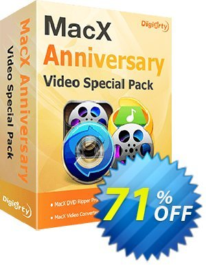 MacX Anniversary Special Pack 프로모션 코드 71% OFF MacX Anniversary Special Pack, verified 프로모션: Exclusive promo code of MacX Anniversary Special Pack, tested & approved