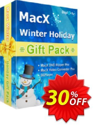 MacX Winter Holiday Gift Pack Coupon, discount MacX Winter Holiday Gift Pack Marvelous discounts code 2021. Promotion: Marvelous discounts code of MacX Winter Holiday Gift Pack 2021