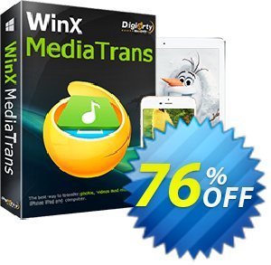 WinX MediaTrans discount coupon MediaTrans discount code for Windows - WinX MediaTrans coupon discount
