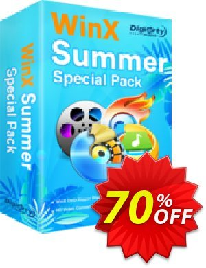 WinX Summer Video Special Pack | for 1 PC Coupon, discount 2020 B2S Pack. Promotion: hottest discount code of WinX Summer Video Special Pack | for 1 PC 2020