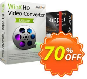 WinX HD Video Converter Deluxe (Lifetime) Coupon, discount New Year Promo. Promotion: Exclusive promo code of WinX HD Video Converter Deluxe (Lifetime), tested in December 2020