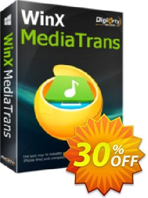 WinX MediaTrans (Lifetime/1 PC) Coupon, discount WinX MediaTrans (Lifetime License for 1 PC) staggering promo code 2020. Promotion: staggering promo code of WinX MediaTrans (Lifetime License for 1 PC) 2020