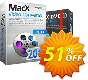 MacX Video Converter Pro Lifetime Coupon, discount Video Converter 50% OFF. Promotion: MacX video converter  Pro coupon code VCPAFFNEW50