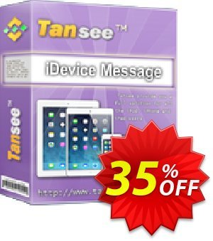 Tansee iOS Message Transfer (3-years)キャンペーン Tansee discount codes 13181