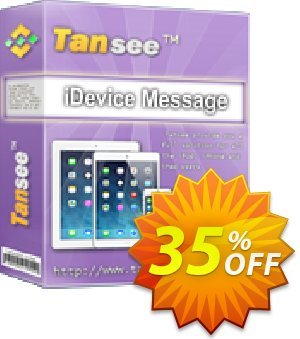 Tansee iOS Message Transfer for Mac 优惠券 Tansee discount codes 13181. 折扣码: 13181-3
